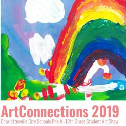 ArtConnections postcard