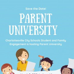 Graphic for Parent University 2019