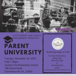 FLyer for Parent U