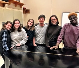 CHS All-Virginia Choir students 2019