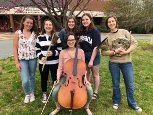 All-Virginia Choir, Band, Orchestra participants 2019