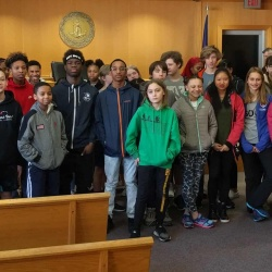 Buford students visit local courthouse.