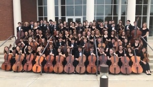 CHS Orchestra at Atlanta Heritage Festival.