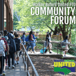 Graphic for Walker Buford United PTO community forum