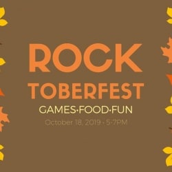 graphic advertising Rocktoberfest