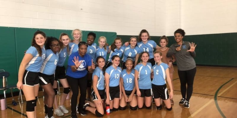 Buford volleyball team