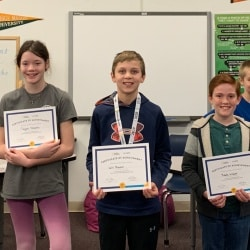 Geography Bee finalists