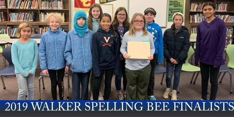 Walker Spelling Bee final 2019_withtitle