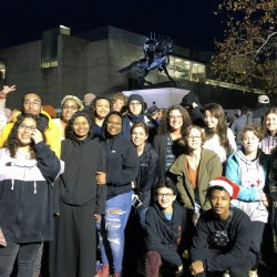 CHS students in Richmond to see unveiling of Kehinde Wiley statue.