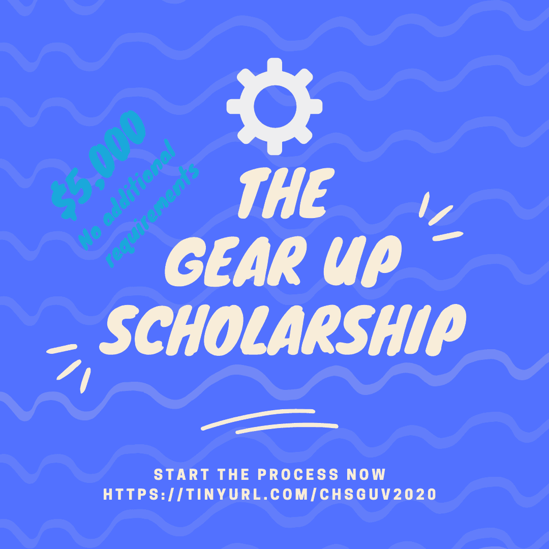 graphic for Gear Up Scholarship