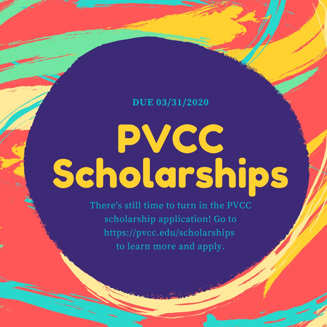 graphic for PVCC Scholarship