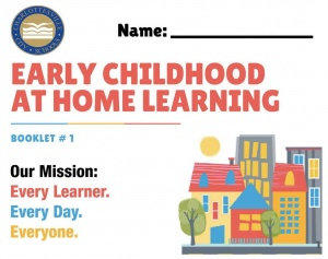 Cover for CCS Early Childhood At-Home Learning Book 1