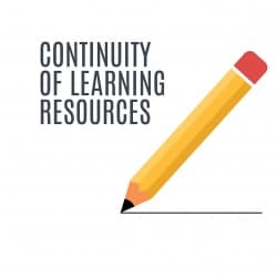 graphic of Continuity of Learning Resources