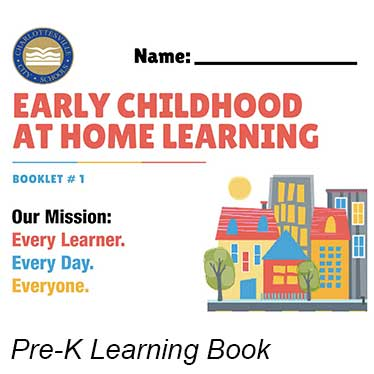 Cover of Pre-K Learning book.