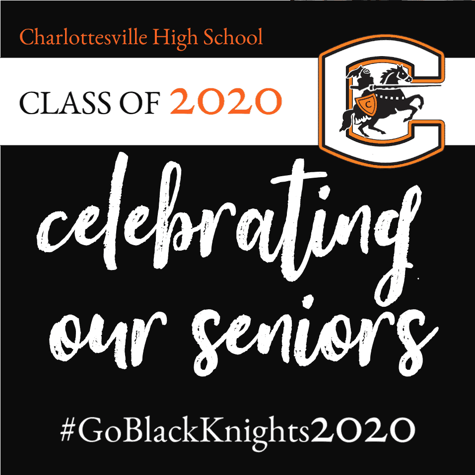 Class of 2020 Celebrating our Seniors graphic