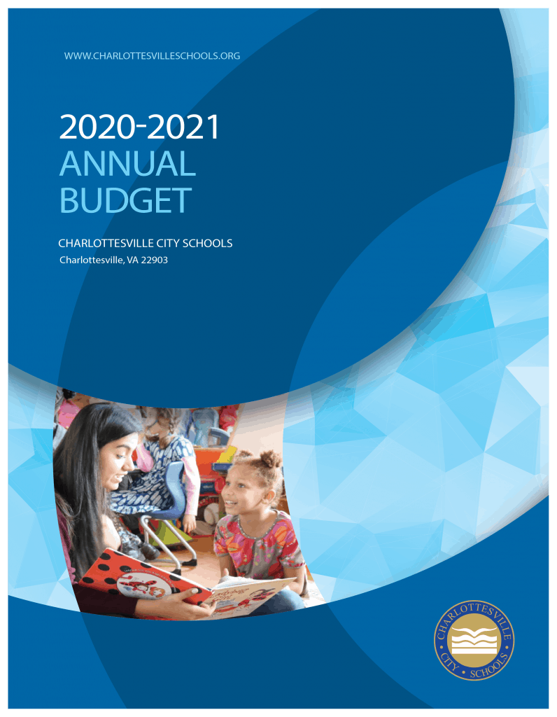 FY20-21 Budget Book Cover (accessibility version will be posted soon)