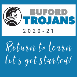 Buford Return to Learn graphic