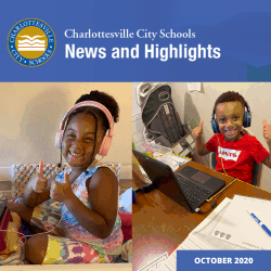 graphic of news & highlights October 2020