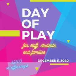 day of play square graphic