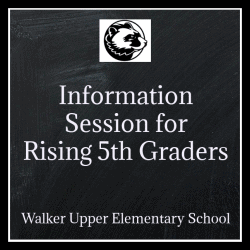 Information Session for Rising 5th graders graphic
