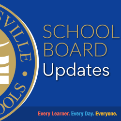 School Board Updates graphic