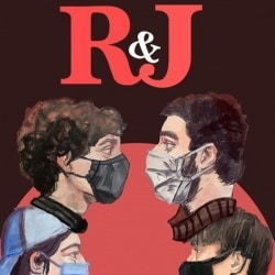 Shakespeare's R&J student poster