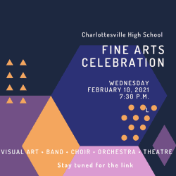 Fine Arts Celebration 2021 graphic