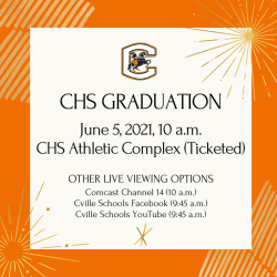 Graduation Viewing information (info on page)