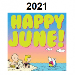 Happy June Peanuts Comics for Buford Guidance June Newsletter