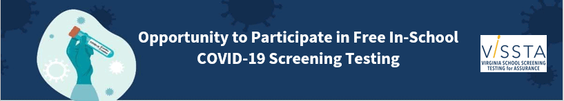 Opportunity to Participate in Free In-School COVID-19 Screening Testing